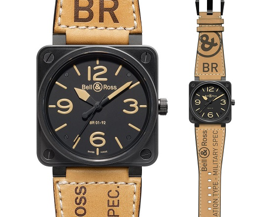 BELL & ROSS Aviation 46mm Military Heritage