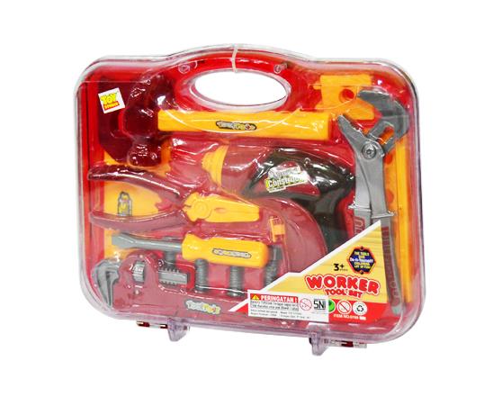 TOY STUDIO Kids Construction Worker Tool Set