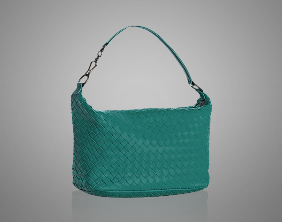 BOTTEGA VENETA Interaccio Emerald Small Shoulder Bag