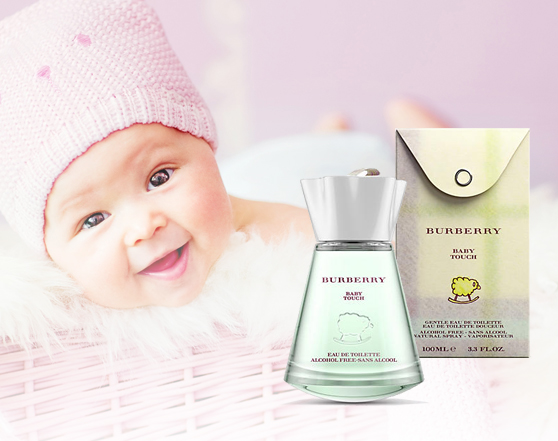 BURBERRY Baby Touch 100mL EDT For Woman & Baby