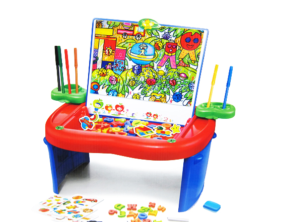 FIRST CLASSROOM Fold N Go Magnetic Learning Board