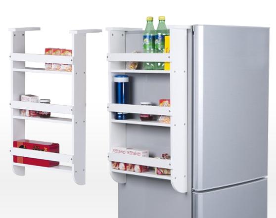 FUNIKA DIY Instant Side Refrigerator Shelf