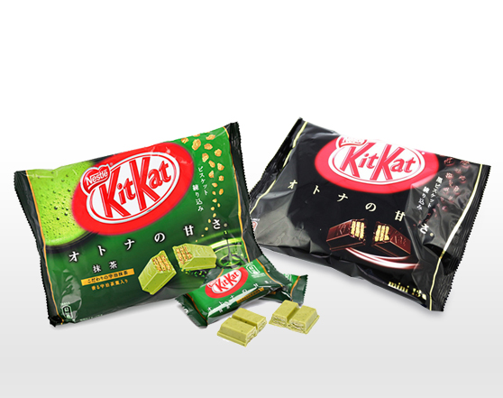 KITKAT Japan Greentea and Dark Choco Combo