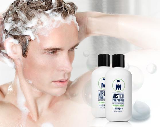 MISTER POMPADOUR Gentleman Hair Groom Essentials