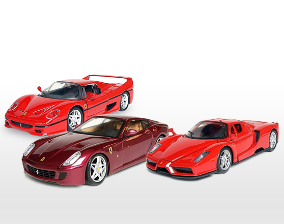 MAISTO Signature Ferrari Die Cast Model Kit (Scale 1:24)