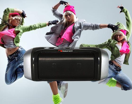 NAKAMICHI My Pawa Plus Portable Bluetooth Speaker