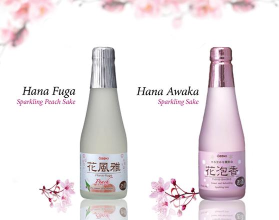 OZEKI Junmai Japanese Sparkling Sweet & Smooth Sake