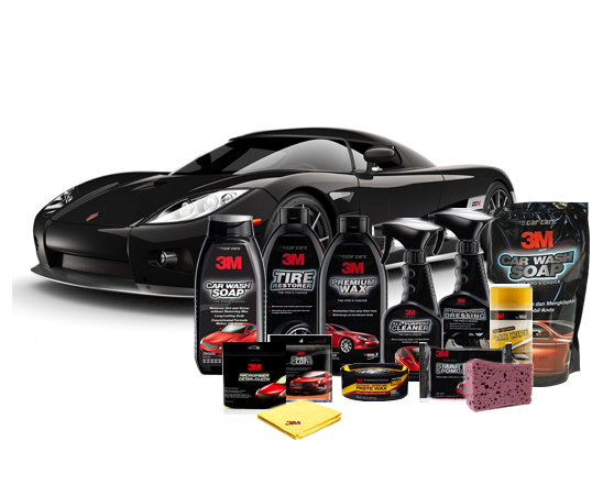 3M Premium Automotive Care Packages