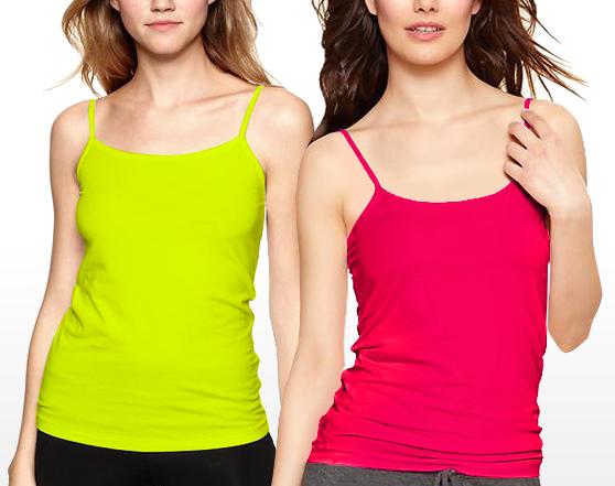 GAP Cotton Spandex Pure Body Cami Top
