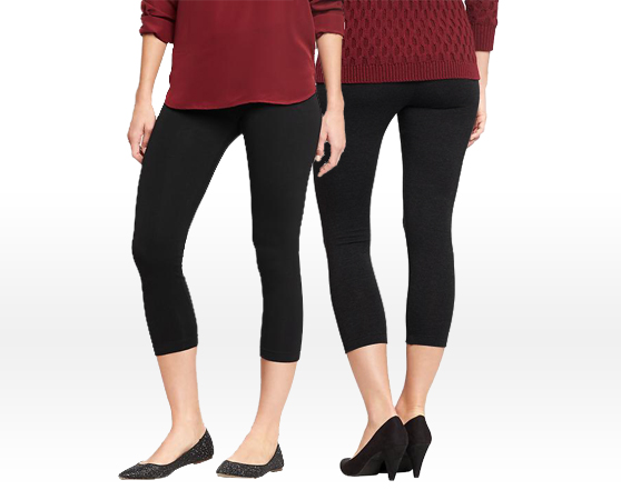 OLD NAVY Everyday Cropped Jersey Leggings