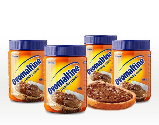 OVOMALTINE Swiss Crunchy Kakao Cream