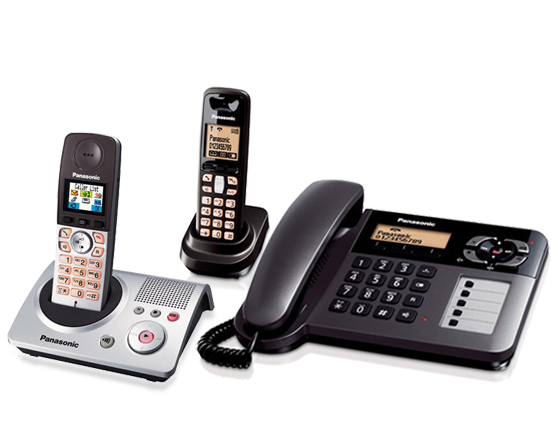 PANASONIC Cordless Phone (W/ Answering Machine)