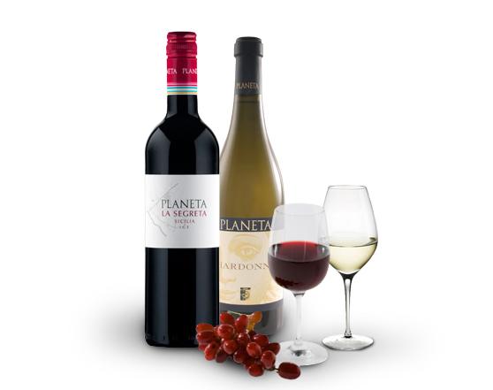 PLANETA La Segreta Rosso / Chardonay Italian Wine