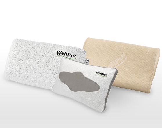 WELLPUR (Denmark) Thermoelastic Foam Luxury Pillows