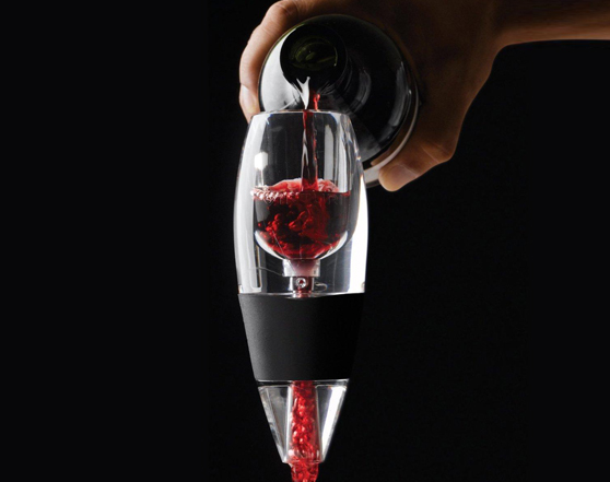 DELUXE Magic Glass Decanting Wine Aerator
