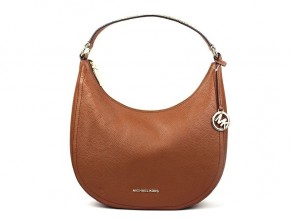 dace5db2931b MICHAEL KORS Lydia Medium Shoulder Bag ACORN