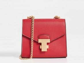 1a5b8d04953 TORY BURCH Juliette Chain Mini Bag RUBY RED