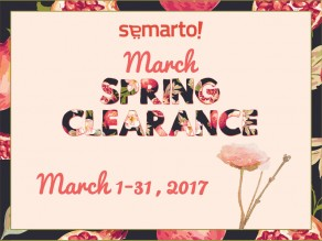 MARCH CLEARANCE