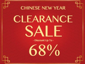 CNY CLEARANCE SALE
