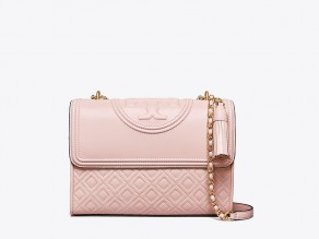 e731732a8454 TORY BURCH Medium Fleming Convertible Bag SHELL PINK