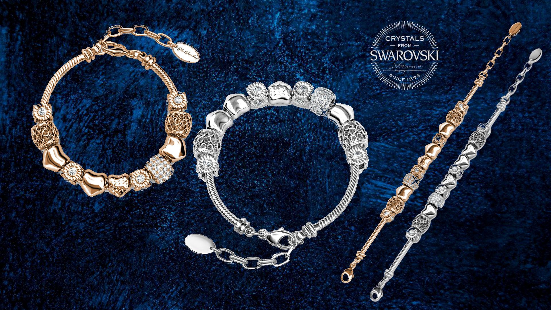 18K Gold Plated Radiant Charm Bracelet