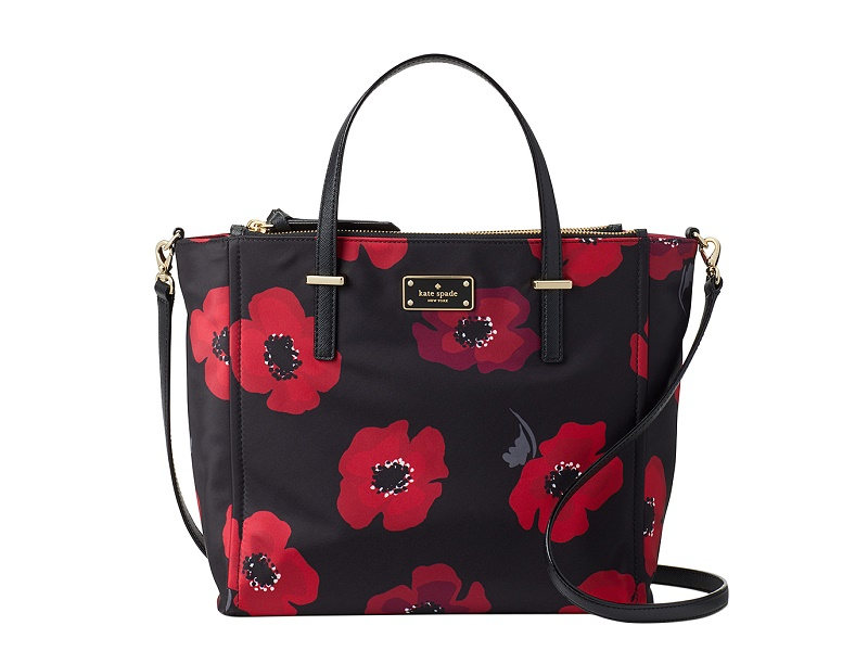 KATE SPADE KATE SPADE Wilson Road Nylon Alyse POPPY |