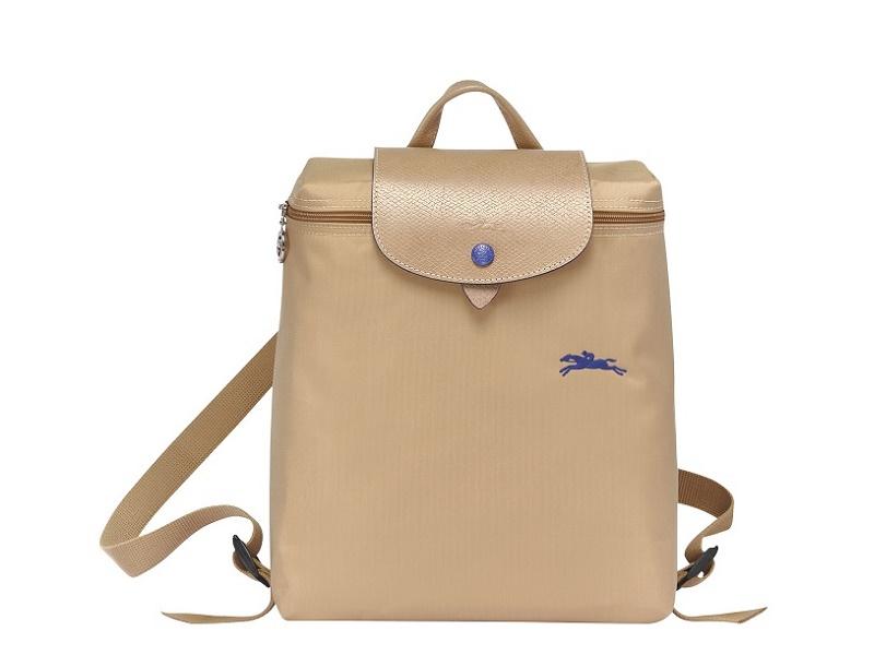 8102 LONGCHAMP Le Pliage Club Backpack BEIGE |