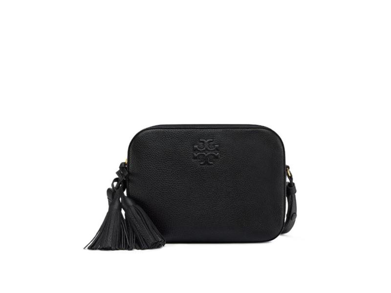 00a5c75781e3 746 TORY BURCH Thea Shoulder Bag BLACK