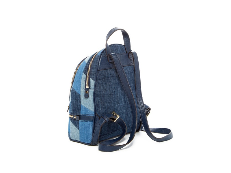 8c3821b06064 img img. img. img img. Feature; Specs. Michael Kors backpack in mosaic  patchwork denim ...