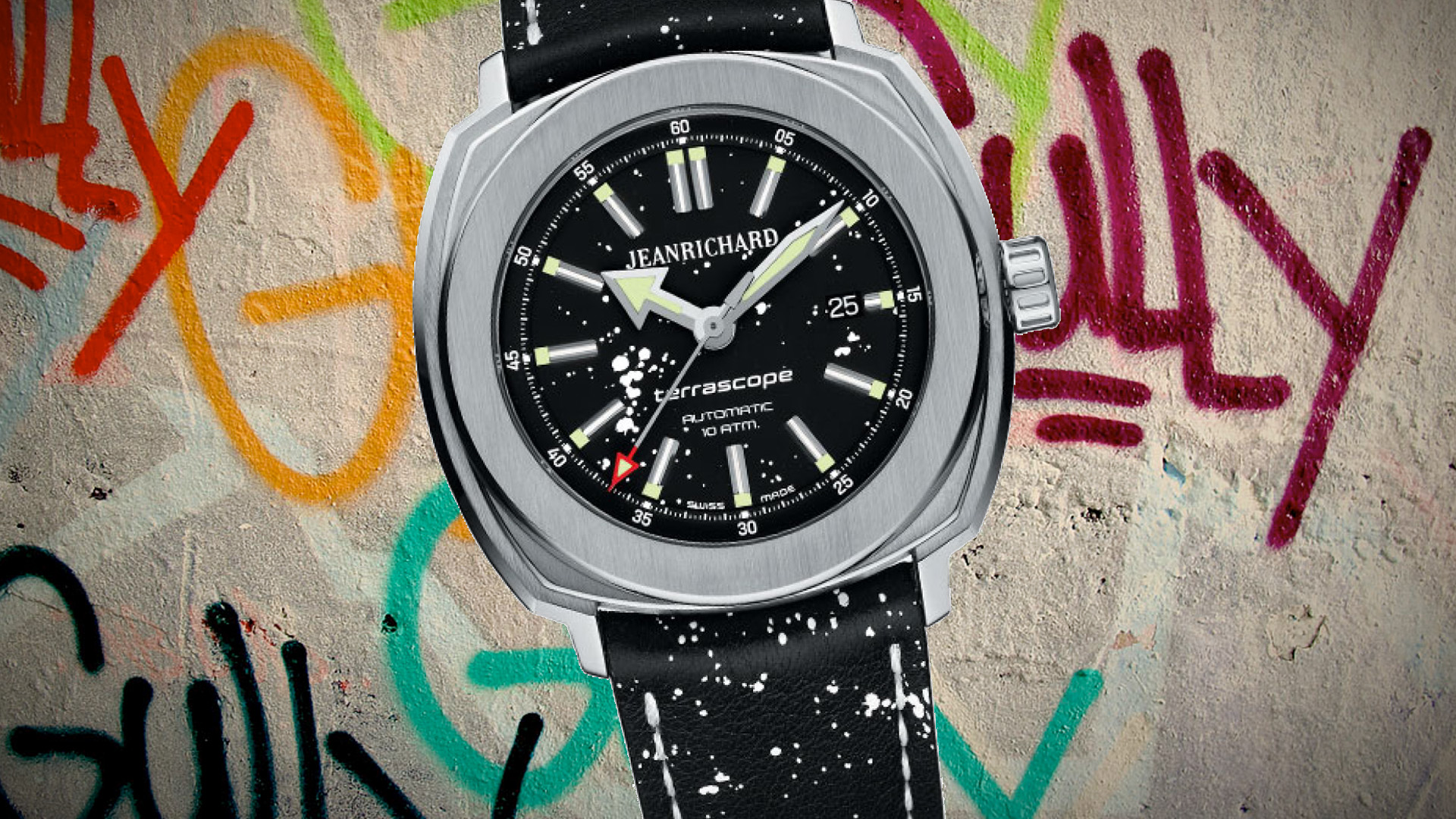 Limited Edition Graphiscope Gully Art Automatic (By Girrard Perregeux)