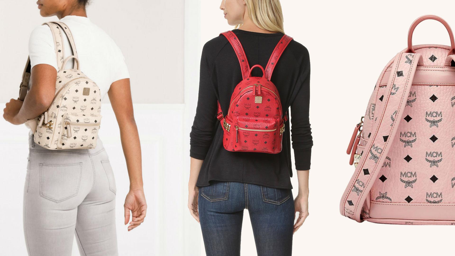 Stark Mini Side Stud Visetos Backpack