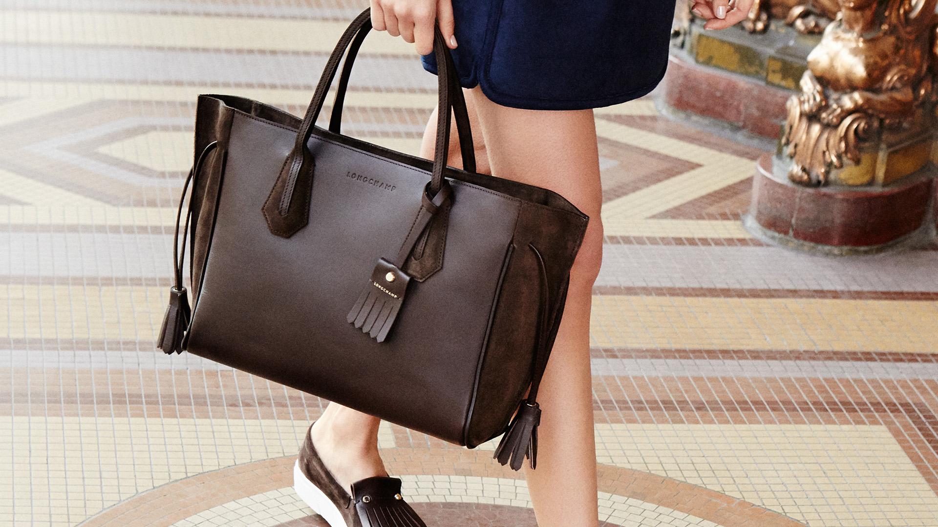 Penelope Fantaisie Cowhide Leather Handbag