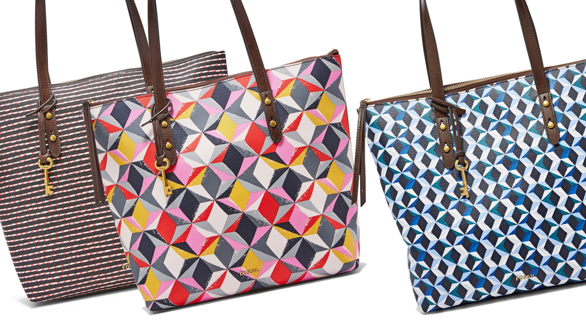 Exclusive Jenna Zip Shopper Tote Collections