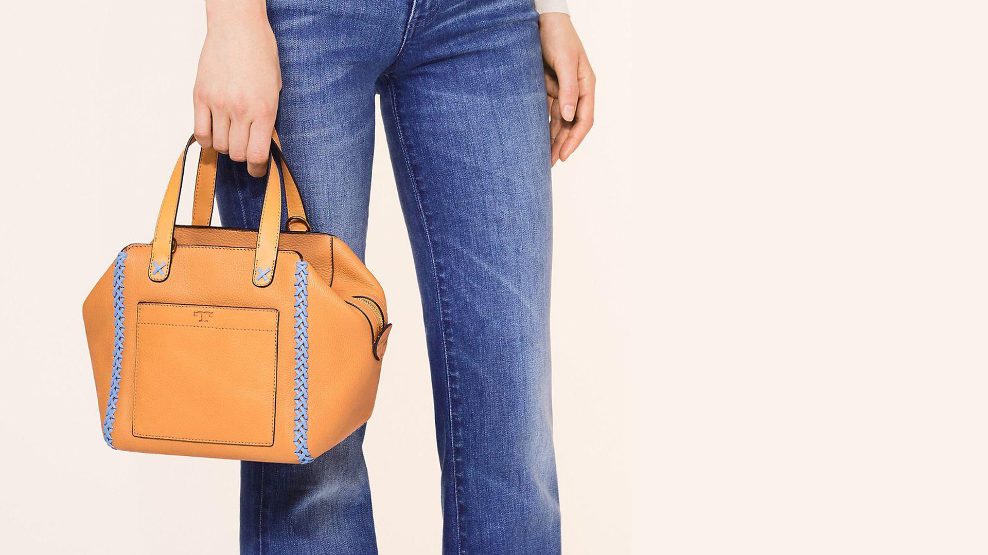 Whipstitch Leather Satchel and Tote Collection