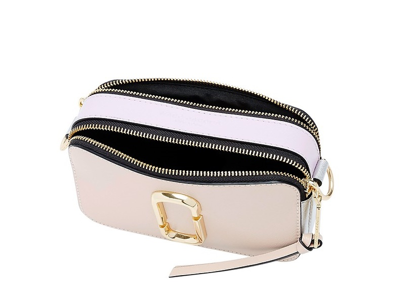 5aaba349110f MARC JACOBS BAGS MARC JACOBS Snapshot Camera Bag PALE PINK MULTI