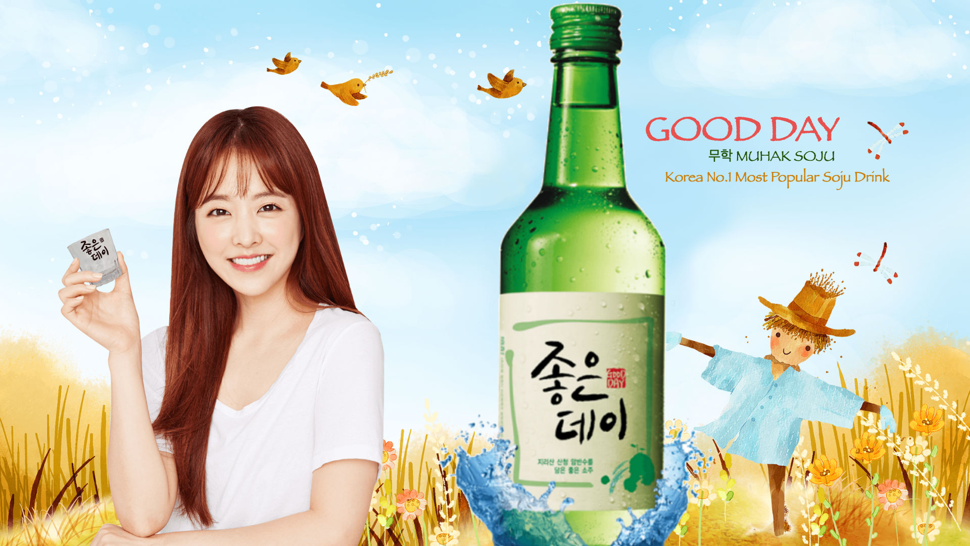 Korean No 1 Most Popular Soju