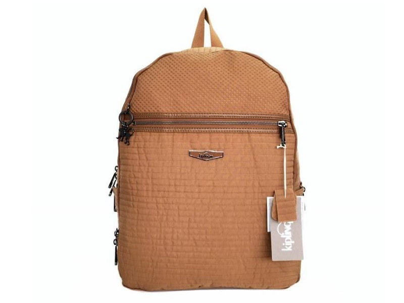bb7bda54938 KIPLING KIPLING Deeda Twist Backpack CARAMEL
