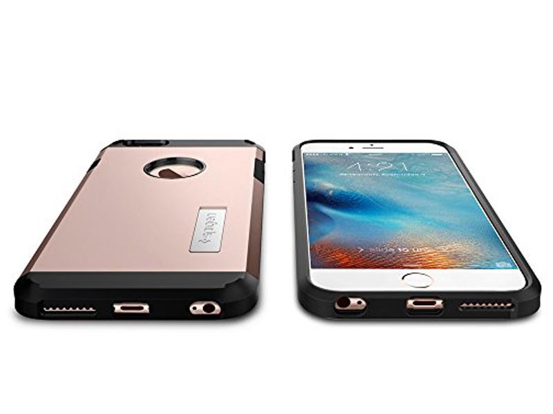 brand new cb327 9a589 1643 iPhone 6 Plus 6S Plus Tough Armor Case (Rose Gold)