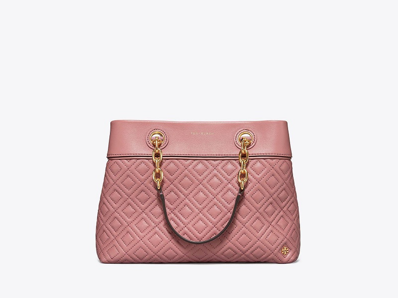 c8af043d8064 5990 TORY BURCH Fleming Small Tote PINK MAGNOLIA