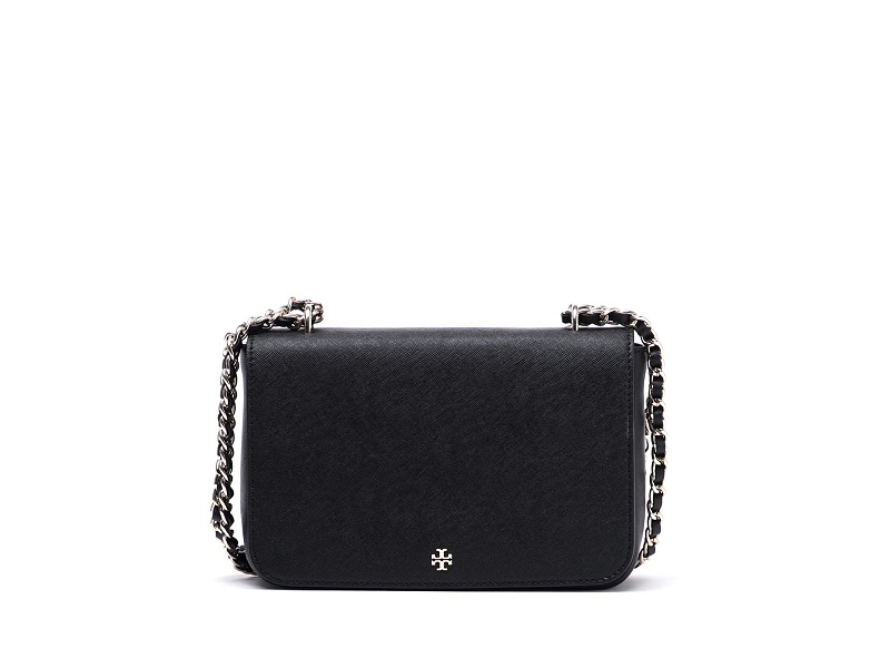 46057532da41 6557 TORY BURCH Robinson Adjustable Shoulder Bag BLACK