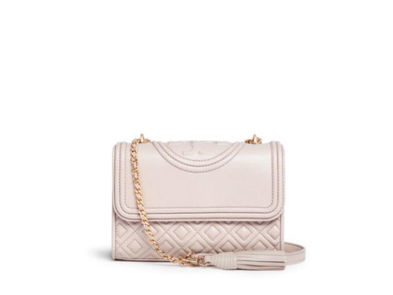 a95bd1023159 TORY BURCH TORY BURCH Small Fleming Convertible Bag BEDROCK