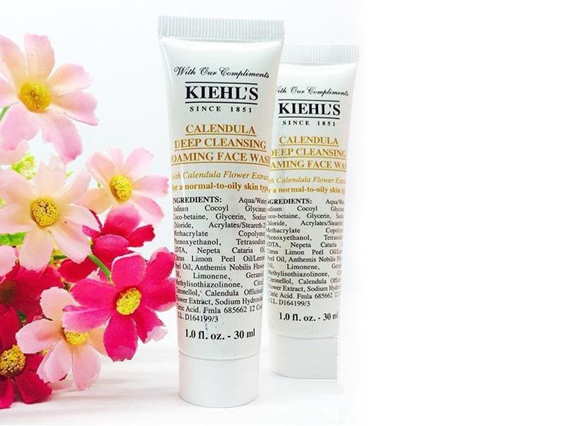 �ล�าร���หารู��า�สำหรั� Kiehl's Calendula Deep Cleansing Foaming Face Wash