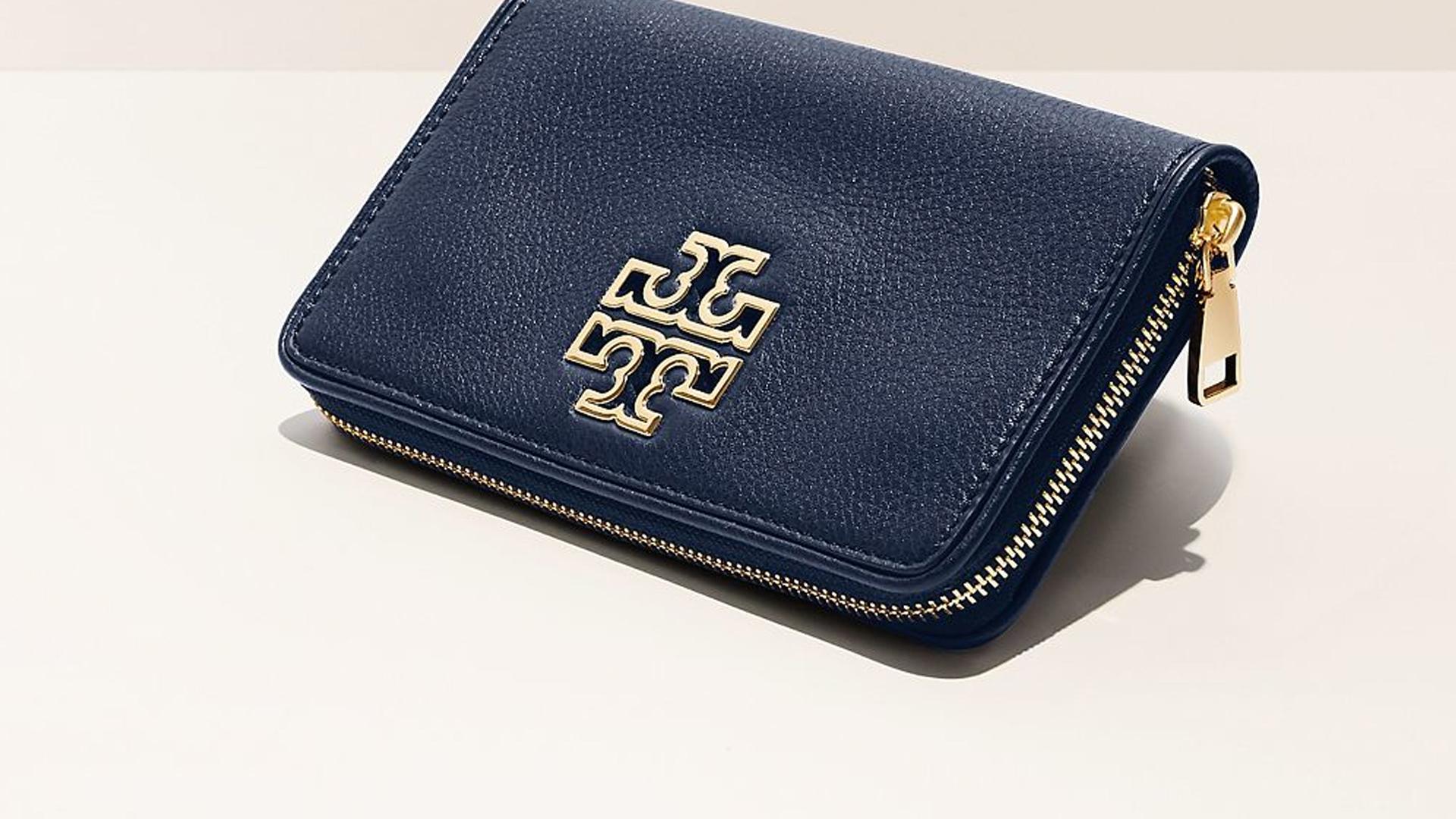 Britten Zip Continental Leather Wallet