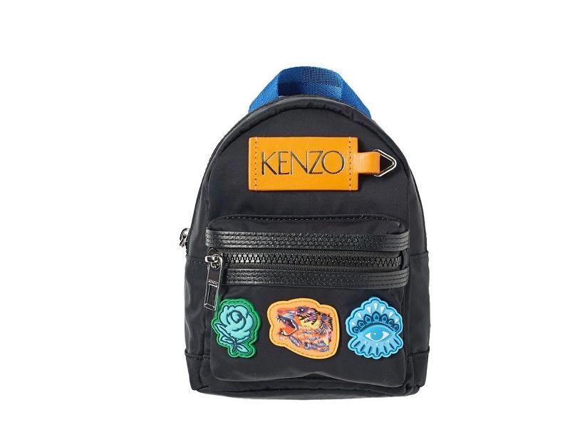 33f3536b85 8627 KENZO Mini Backpack GO TIGERS BLACK